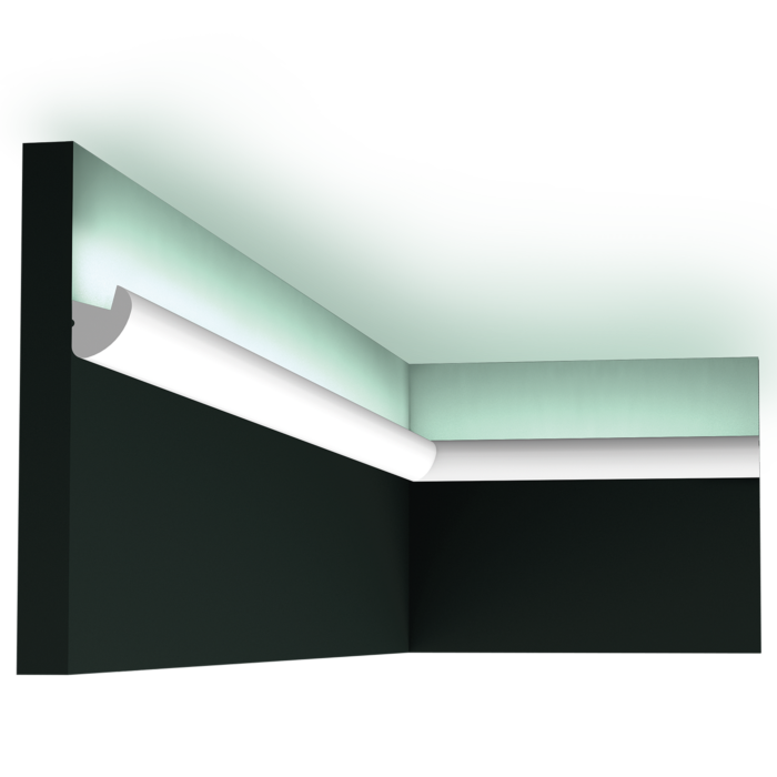 CX188 Cimaise eclairage indirect plafond orac decor 200 cm